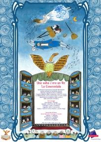 """Locandina """"Una volta c'era un Re: La cenerentola"""" per Fondazione Teatro La Fenice di Venezia_area formazione_2016"""
