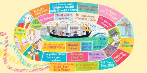 Depliant attività 2017-2018 per Fondazione Teatro La Fenice di Venezia_area formazione