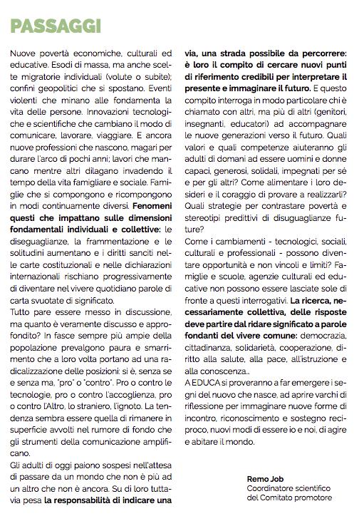 EDUCA, il festival dell'educazione di Rovereto